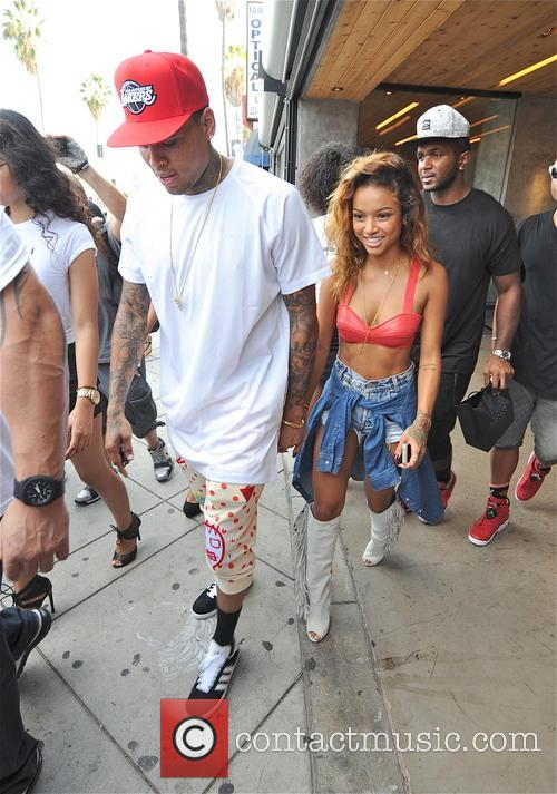 Chris Brown and Karrueche Tran 3