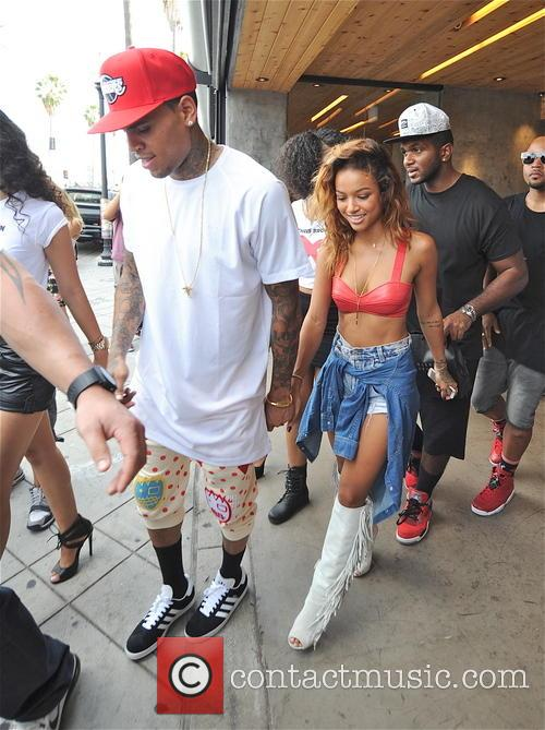 Chris Brown and Karrueche Tran 5