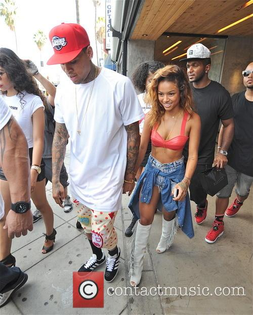 Chris Brown and Karrueche Tran 7