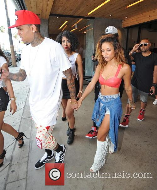Chris Brown and Karrueche Tran 1