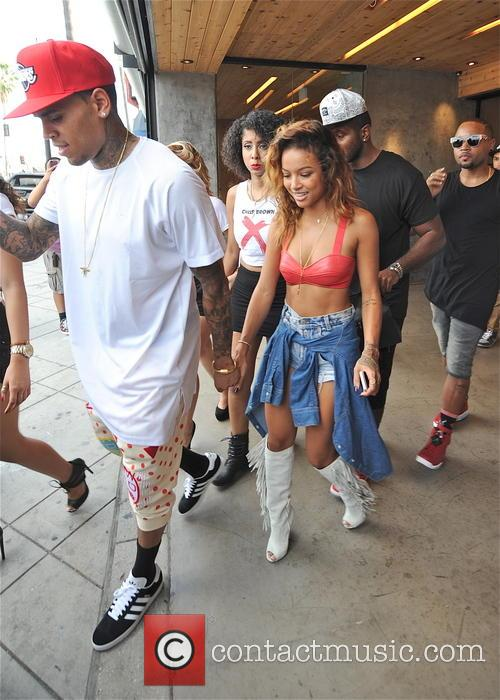 Chris Brown and Karrueche Tran 10