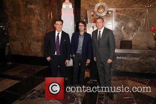Alan Gilbert, Josh Groban and Matthew Vanbesien 1