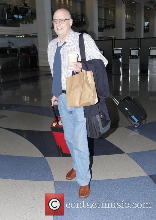 Jeffrey Tambor departs from Los Angeles International Airport