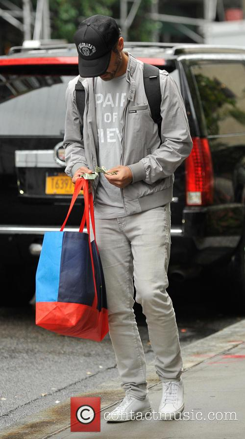 Jessica Alba and her family leaving their hotel...