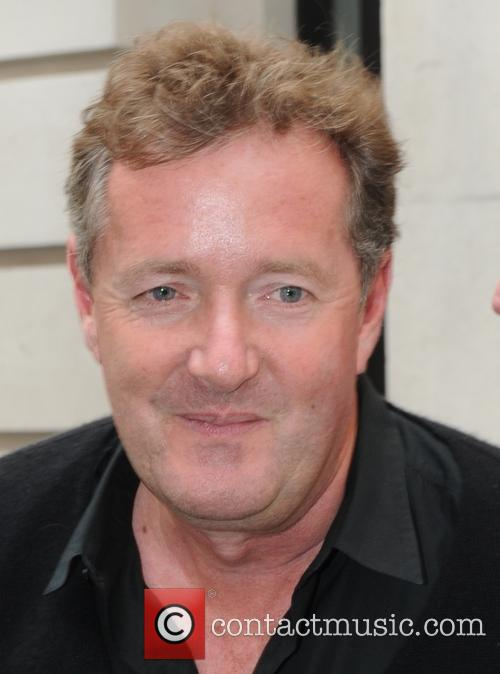 Piers Morgan seen out in London