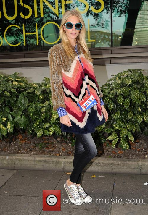 Poppy Delevingne attends Anya Hindmarch