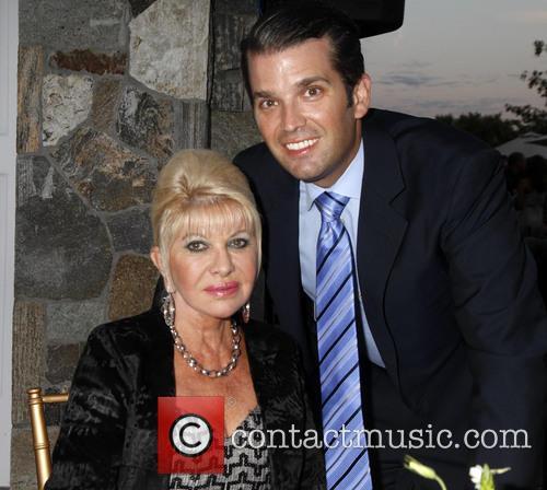 Don Trump Jr and Ivana Trump 1