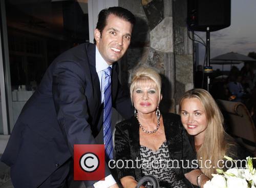 Don Trump Jr, Ivana Trump and Vanessa Trump 4