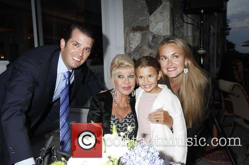 Don Trump Jr, Ivana Trump, Vanessa Trump and Kai 2