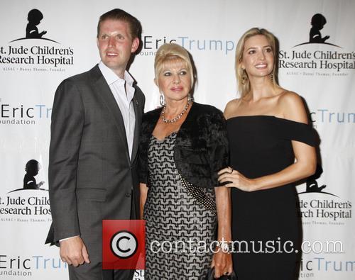 Eric Trump, Ivana Trump and Ivanka Trump 11