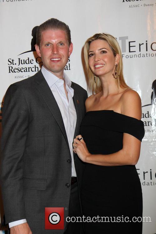 Eric Trump and Ivanka Trump 3