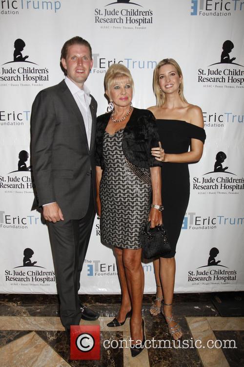 Ivana Trump, Ivanka Trump and Eric Trump 6