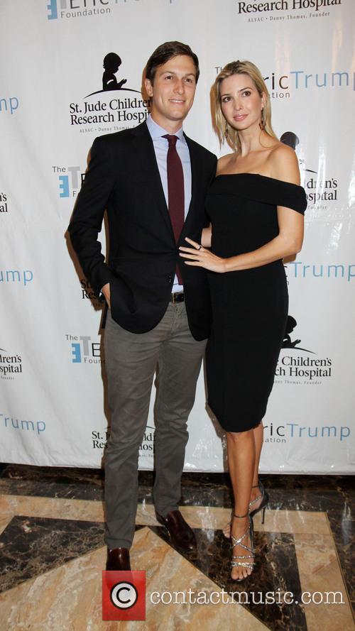 Ivanka Trump and Husband Jared 2