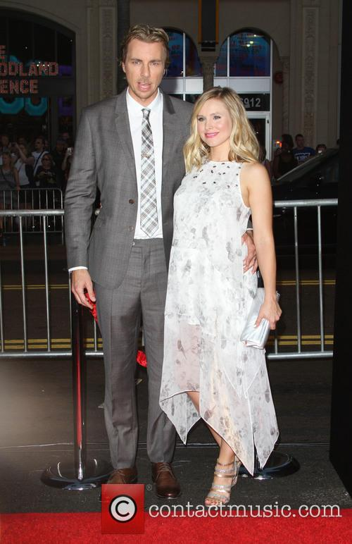 Dax Shepard and Wife Kristen Bell 2