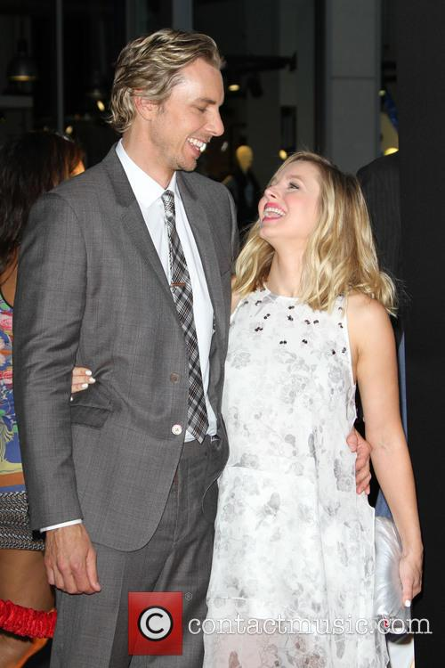 Dax Shepard and Wife Kristen Bell 1