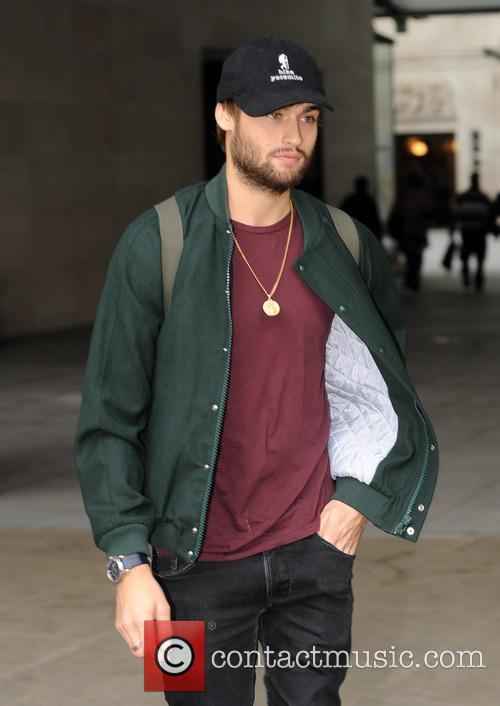 Douglas Booth pictured at Radio 1