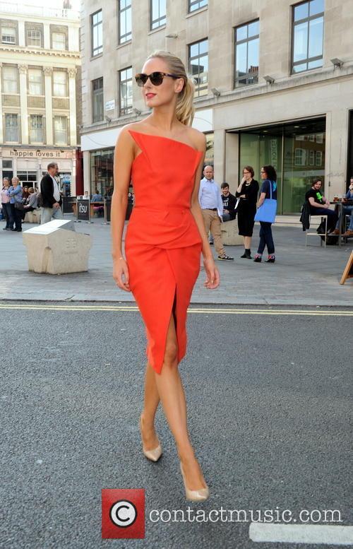Kimberley Garner at London Fashion Week