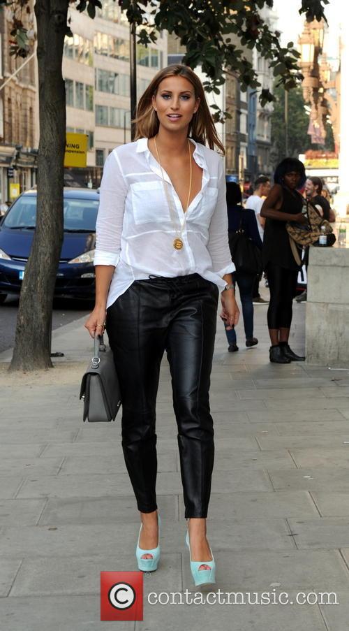 Ferne McCann at London Fashion Week