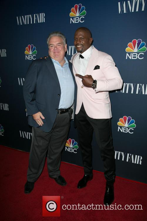 Jim O'heir and Terry Crews