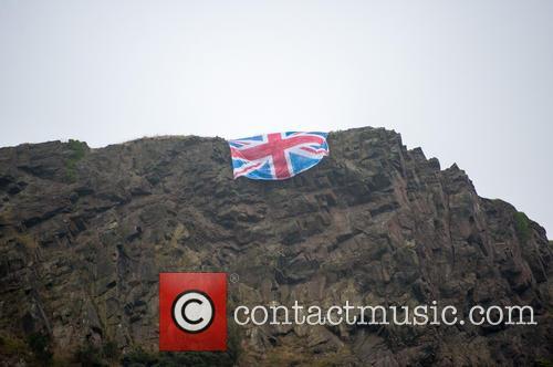 No, Union Flag and Edinburgh's Arthurs Seat 3