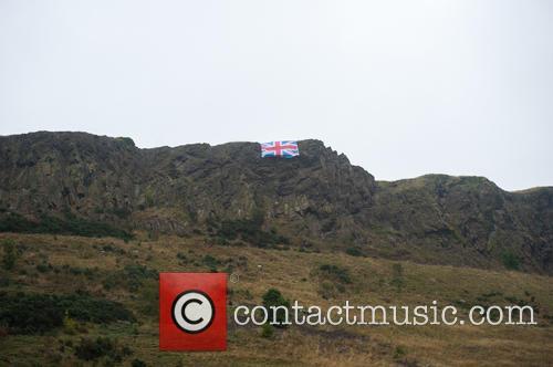 No, Union Flag and Edinburgh's Arthurs Seat 5