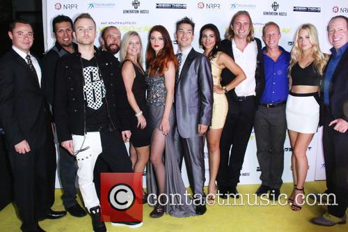 Gary Siever, Nicole Fox, Saige Walker, Isabella Sanchez, Matt Harrelson, Jason Boegh and Allie Meixner 2