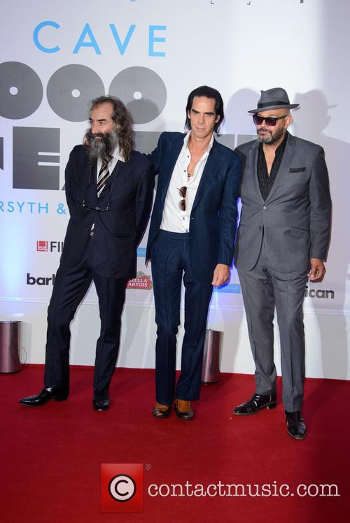 Warren Ellis, Nick Cave and Barry Adamson