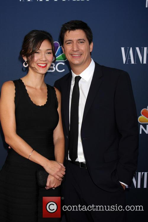 Ken Marino and Wife 2