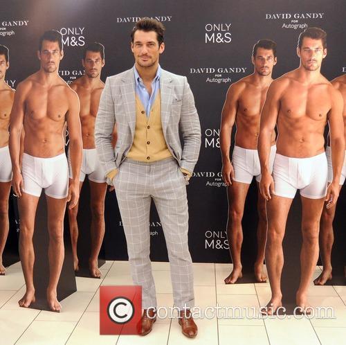 David Gandy launches his Underwear range at M&S...