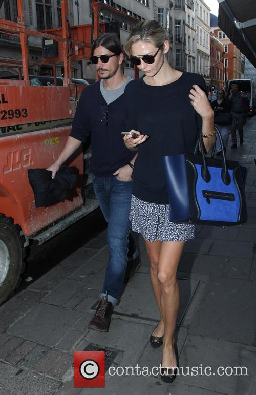 Tamsin Egerton and her boyfriend Josh Hartnett spotted...