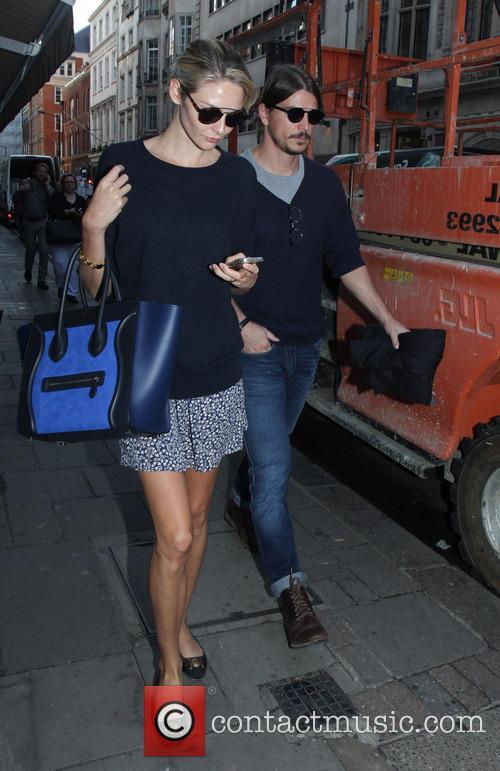 Tamsin Egerton and her boyfriend Josh Hartnett spotted...