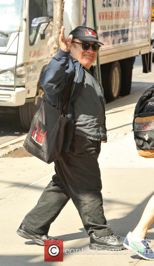 Danny DeVito spotted returning to his New York...
