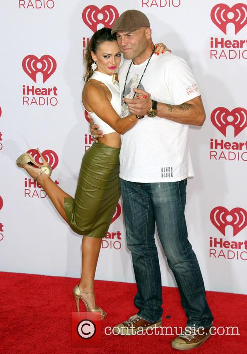 Karina Smirnoff and Randy Couture 2