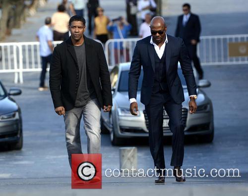 Denzel Washington and Antoine Fuqua 2