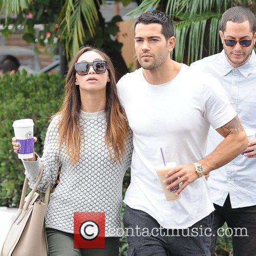 Jesse Metcalfe and his girlfriend Cara Santana pick...