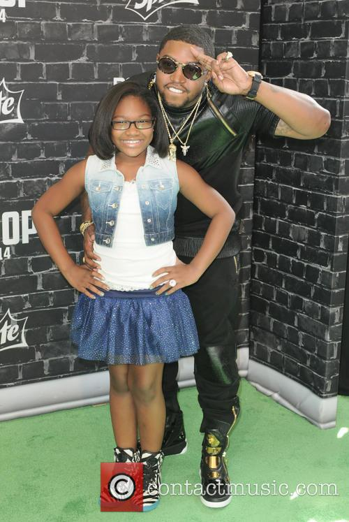 Lil Scrappy and Emani Richardson 2