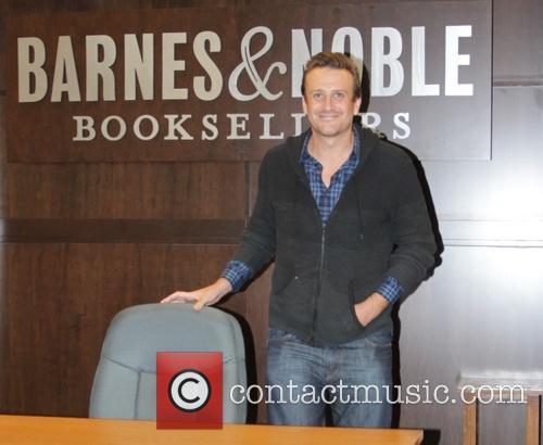 Jason Segel promotes his new book at Barnes...