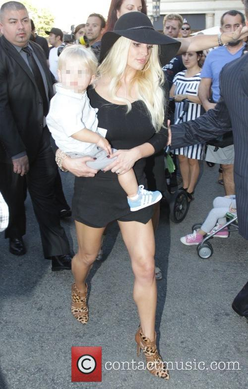 Jessica Simpson and Ace Johnson 5