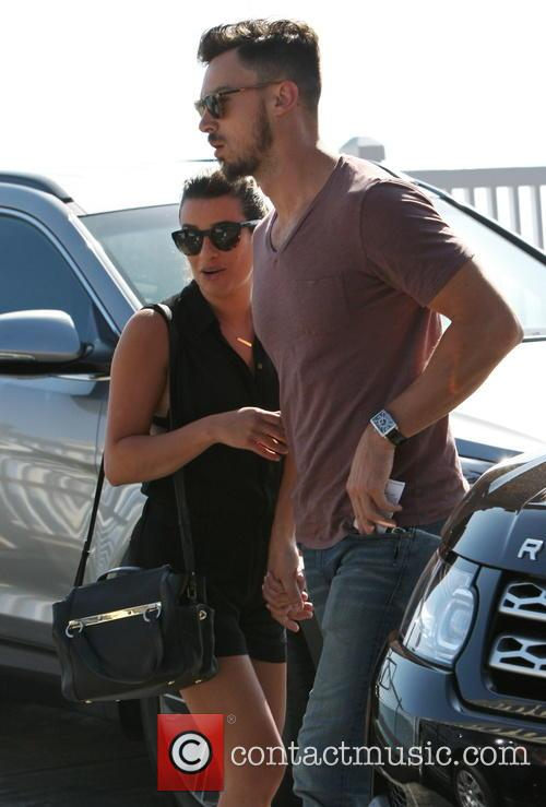 Lea Michele and Matthew Paetz 2