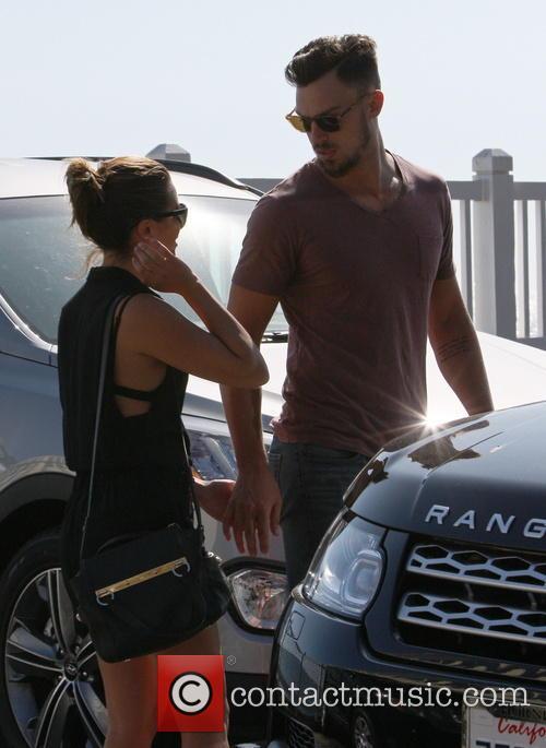 Lea Michele and boyfriend Matthew Paetz out in...