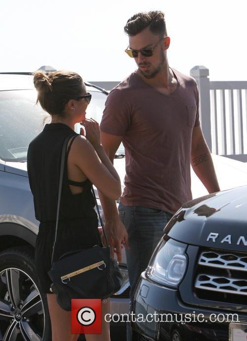 Lea Michele and Matthew Paetz 4