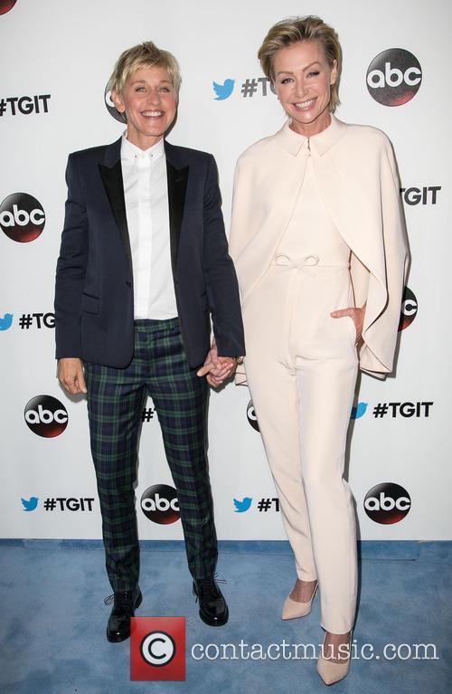 Ellen Degeneres and Portia De Rossi 9