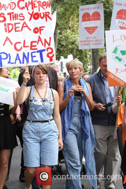 Climate change march in London
