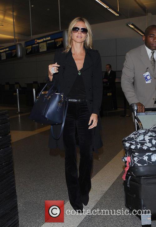 Heidi Klum and Los Angeles International Airport 2