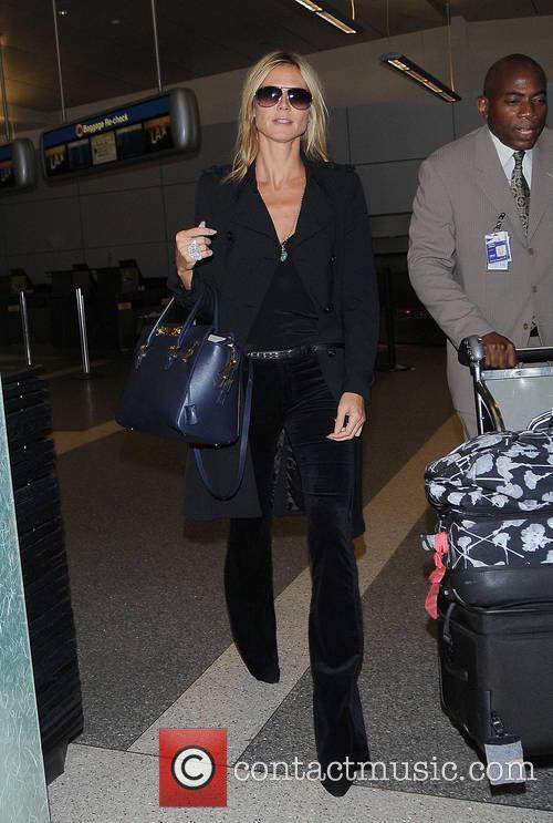 Heidi Klum and Los Angeles International Airport 3