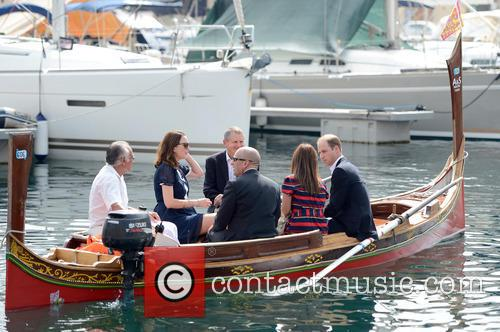 Prince William on a state visit to Malta