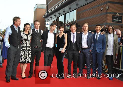 Charlotte Riley, Steven Knight, Cillian Murphy, Helen Mccrory, Joe Cole, Finn Cole, Paul Bullion, Colin Mccarthy and Harry Kirton