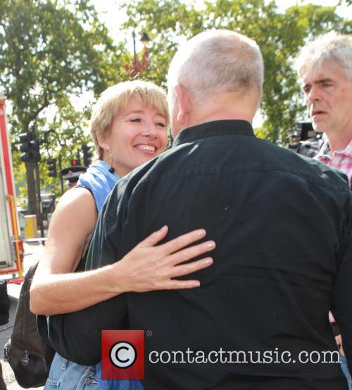 Emma Thompson and Peter Gabriel