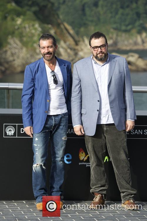 San Sebastian, Anotnio Banderas and Gabe Ibanez 6