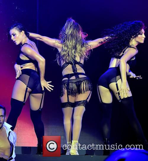 Jennifer Lopez at the Singapore Airines Grand Prix...